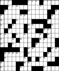 CNJ Racing Crossword Puzzle 1