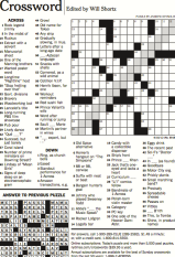 crossword puzzle NYT
